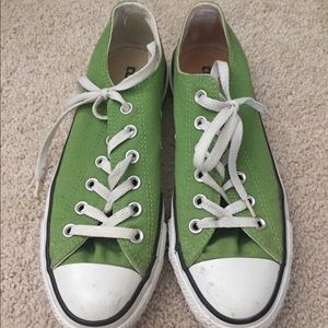 Apple Green Converse All Stars